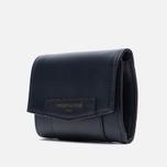 Женский кошелек Maison Kitsune Leather Dark Navy фото- 2