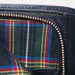 Женский кошелек Maison Kitsune Leather Dark Navy фото- 5