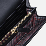 Женский кошелек Maison Kitsune Long Leather Black фото- 2