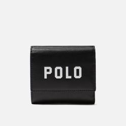 Кошелек Polo Ralph Lauren Modern Polo Nappa Black