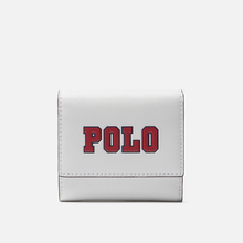 Кошелек Polo Ralph Lauren Varsity Polo Nappa Optic White фото- 0