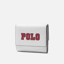 Кошелек Polo Ralph Lauren Varsity Polo Nappa Optic White фото- 1