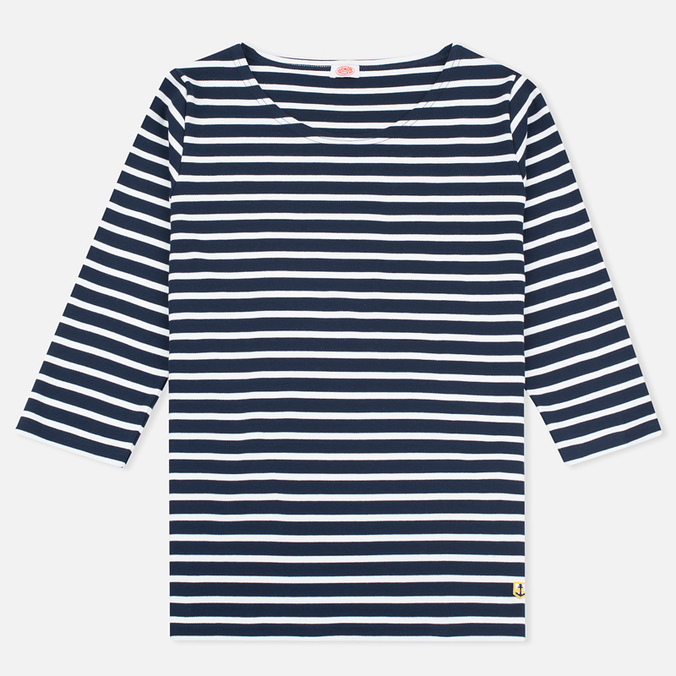 Женский лонгслив Armor-Lux Sailor Heritage Marine/Off White