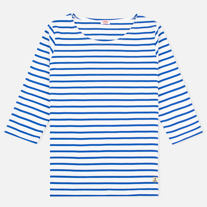 Женский лонгслив Armor-Lux Sailor Heritage Off White/Parsol Blue