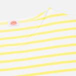 Женский лонгслив Armor-Lux Sailor Off White/Solar Yellow фото- 1