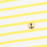Женский лонгслив Armor-Lux Sailor Off White/Solar Yellow фото- 3