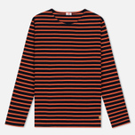 Armor-Lux Sailor Women's Longsleeve Rich Navy/Orange photo- 0