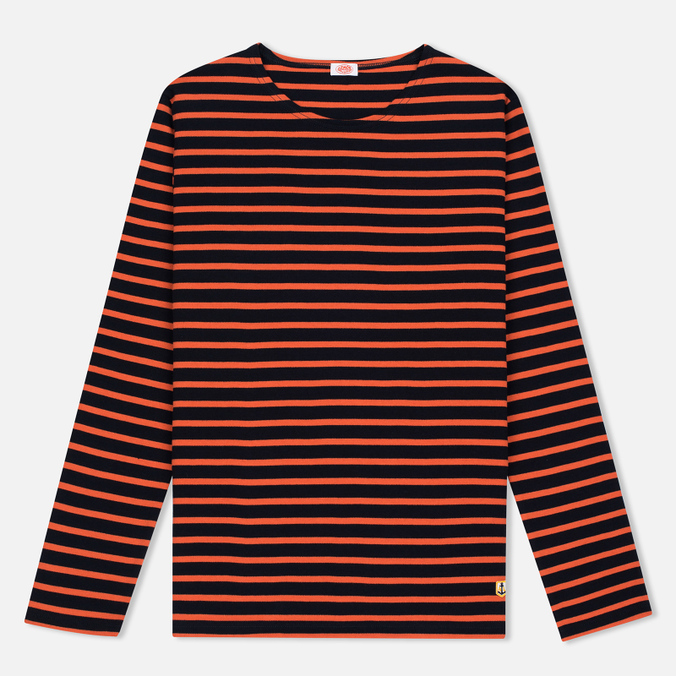 Женский лонгслив Armor-Lux Sailor Rich Navy/Orange