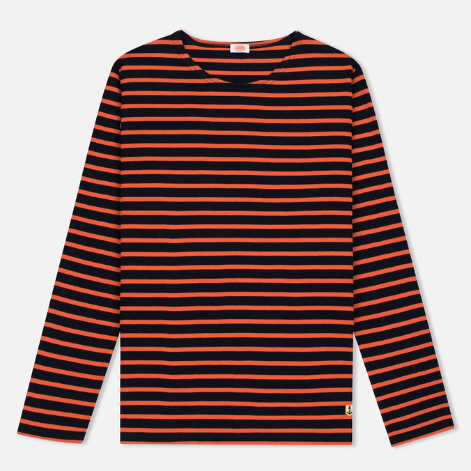 Armor-Lux Sailor Women's Longsleeve Rich Navy/Orange