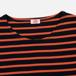 Armor-Lux Sailor Women's Longsleeve Rich Navy/Orange photo- 1