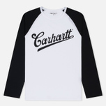 Женский лонгслив Carhartt WIP W' Strike White/Black/Black фото- 0