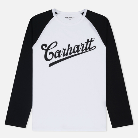 Женский лонгслив Carhartt WIP W' Strike White/Black/Black