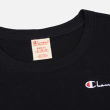 Женский лонгслив Champion Reverse Weave Small Logo Script Embroidered Black фото- 1