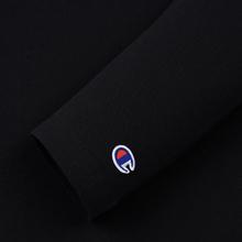 Женский лонгслив Champion Reverse Weave Small Logo Script Embroidered Black фото- 3