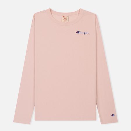 Женский лонгслив Champion Reverse Weave Small Logo Script Embroidered Rose Tane