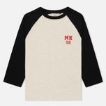 Женский лонгслив Maison Kitsune MK 08 Ecru Melange фото- 0