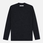 Женский свитер Norse Projects Embla High Thin Wool Charcoal Melange фото- 0
