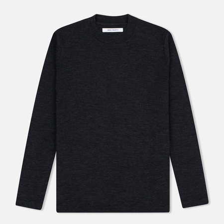 Женский свитер Norse Projects Embla High Thin Wool Charcoal Melange