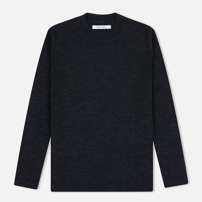 Женский свитер Norse Projects Embla High Thin Wool Charcoal Melange