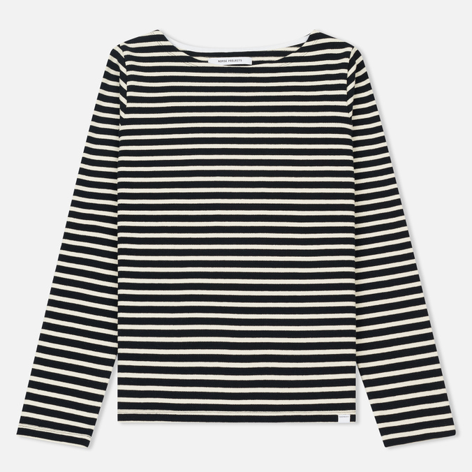Женский лонгслив Norse Projects Inge Classic Stripe Dark Navy