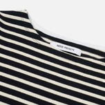 Женский лонгслив Norse Projects Inge Classic Stripe Dark Navy фото- 1