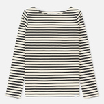 Женский лонгслив Norse Projects Inge Classic Stripe Ecru фото- 0