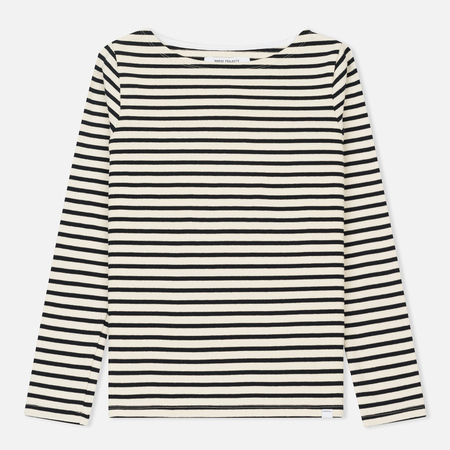 Женский лонгслив Norse Projects Inge Classic Stripe Ecru