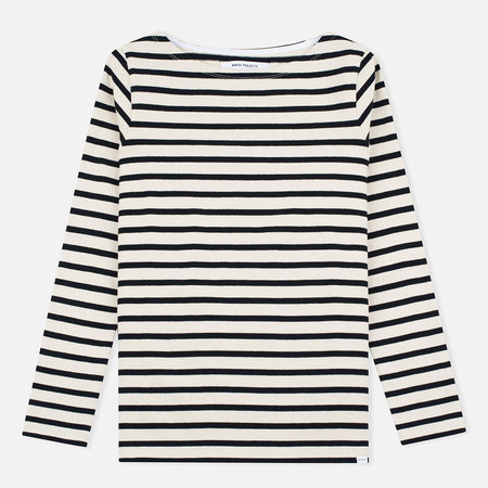 Norse Projects Inge Stripe Women's Longsleeve Ecru/Navy