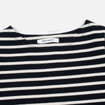 Женский лонгслив Norse Projects Inge Stripe Navy/Ecru фото- 1