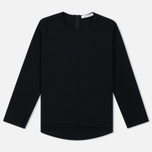 Женский лонгслив Norse Projects Kitty Waffle Wool Black фото- 0