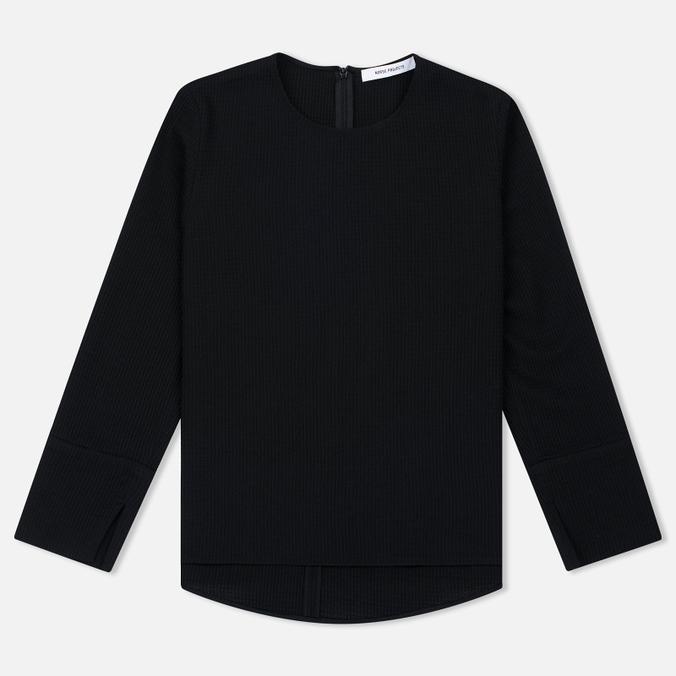 Женский лонгслив Norse Projects Kitty Waffle Wool Black