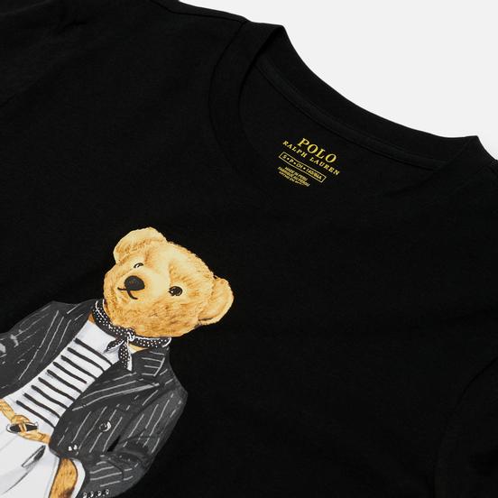 Женский лонгслив Polo Ralph Lauren Bear Parisian Inspired Attire Black