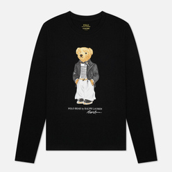 Женский лонгслив Polo Ralph Lauren Bear Parisian Inspired Attire Black