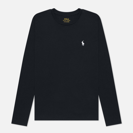 Женский лонгслив Polo Ralph Lauren Crew Neck 30/1 Cotton Jersey Black