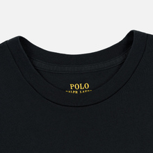 Женский лонгслив Polo Ralph Lauren Crew Neck 30/1 Cotton Jersey Black фото- 1