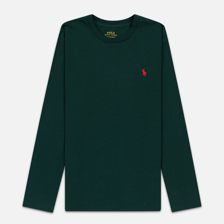 Женский лонгслив Polo Ralph Lauren Crew Neck 30/1 Cotton Jersey Hunt Club Green