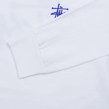 Женский лонгслив Stussy Basic Logo White фото- 3