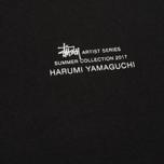 Женский лонгслив Stussy Harumi Yamaguchi Nude Black фото- 2