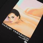 Женский лонгслив Stussy Harumi Yamaguchi Nude Black фото- 5