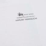 Женский лонгслив Stussy Harumi Yamaguchi Nude White фото- 2