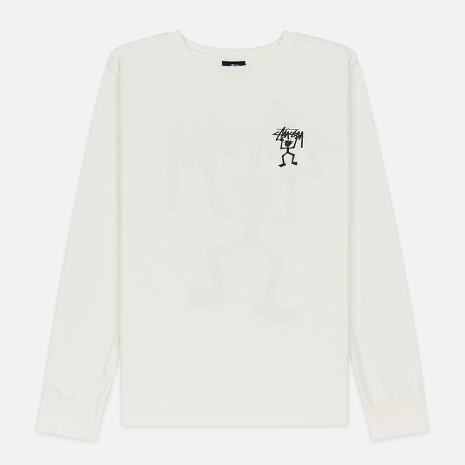 Женский лонгслив Stussy Warrior Man Pigment Dyed LS Natural