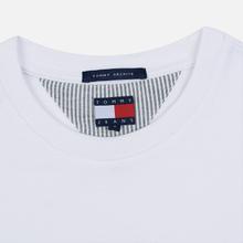 Женский лонгслив Tommy Jeans Heritage Classic White фото- 1