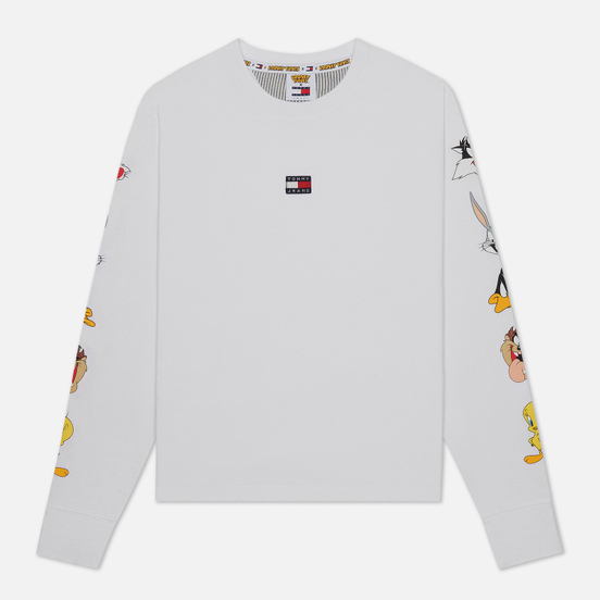 Женский лонгслив Tommy Jeans x Looney Tunes White