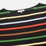 Женский лонгслив YMC Breton Black/Multicolour фото- 1