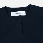 Женский плащ Norse Projects Fredis Washed Cotton Twill Dark Navy фото- 1