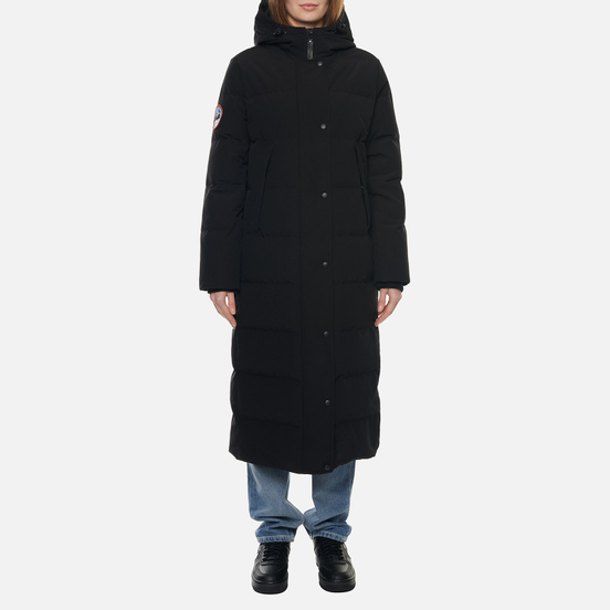 Женский пуховик Arctic Explorer Quilted Down Black