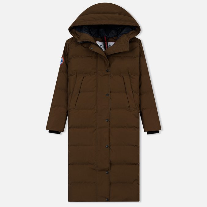 Женский пуховик Arctic Explorer Quilted Down Cacao