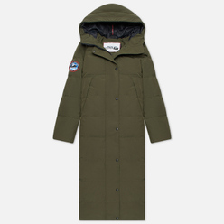 Женский пуховик Arctic Explorer Quilted Down Khaki
