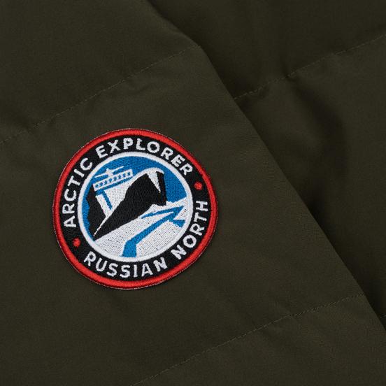 Женский пуховик Arctic Explorer Quilted Down Khaki