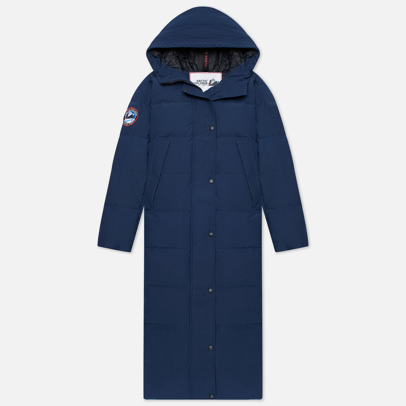 Женский пуховик Arctic Explorer Quilted Down Navy